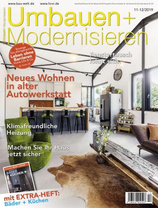 Umbauen + Modernisieren 11-12/2019