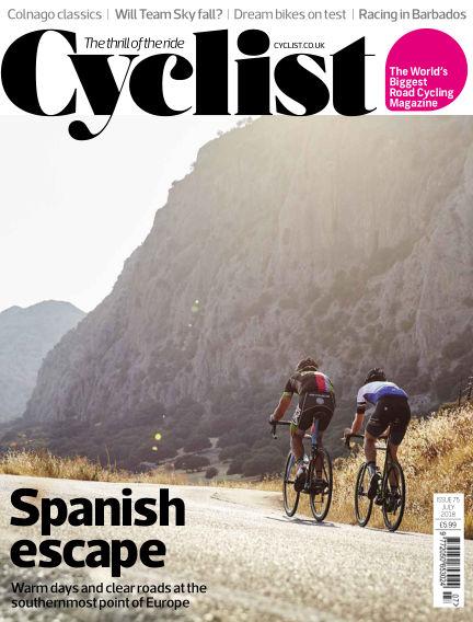 Cyclist May 23, 2018 00:00