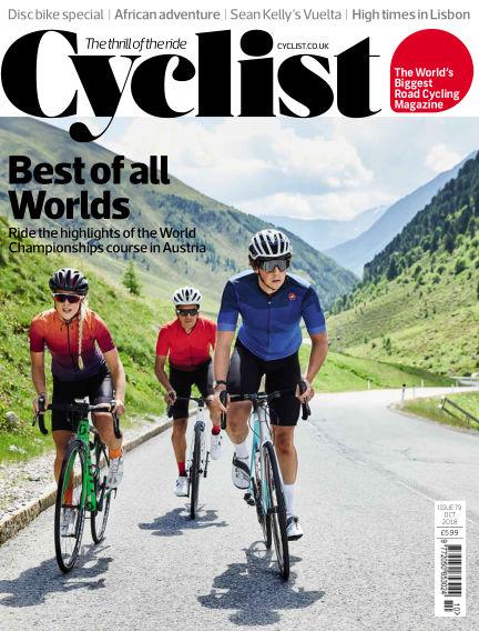Cyclist September 12, 2018 00:00