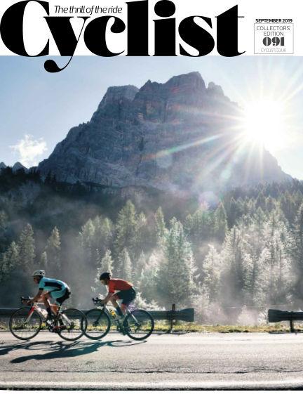 Cyclist August 14, 2019 00:00