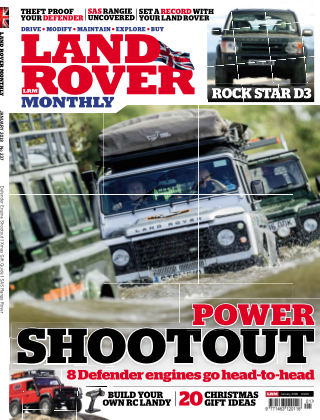 Land Rover Monthly Jan
