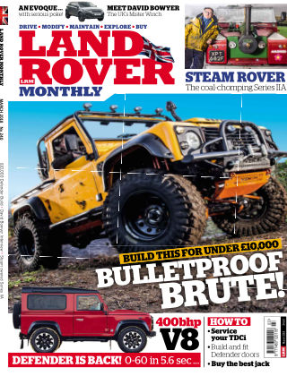 Land Rover Monthly Mar