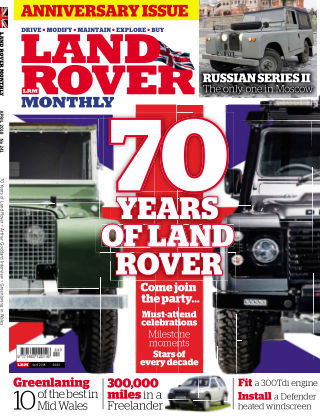 Land Rover Monthly Apr18