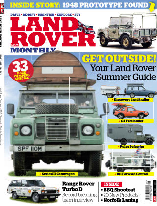 Land Rover Monthly June 18