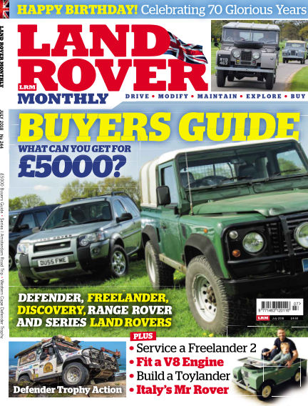 Land Rover Monthly May 30, 2018 00:00