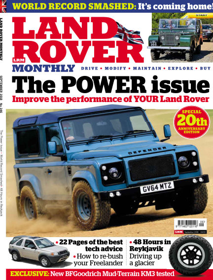 Land Rover Monthly July 25, 2018 00:00