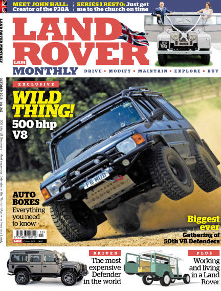 Land Rover Monthly August 22, 2018 00:00