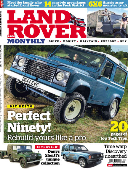 Land Rover Monthly September 19, 2018 00:00