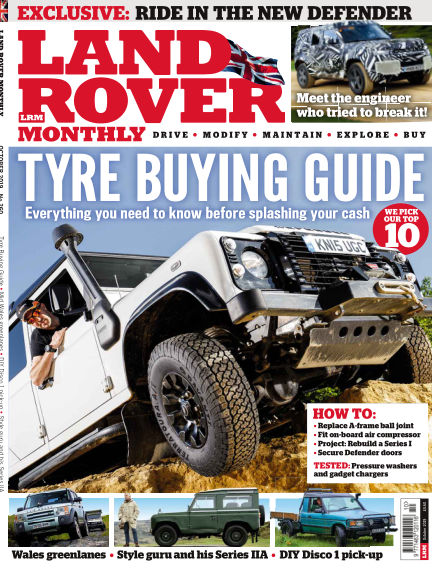 Land Rover Monthly August 20, 2019 00:00