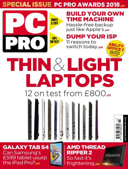 PC Pro September 13, 2018 00:00