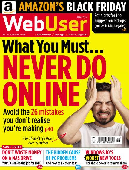 Web User November 14, 2018 00:00