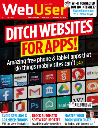 Web User Issue 505