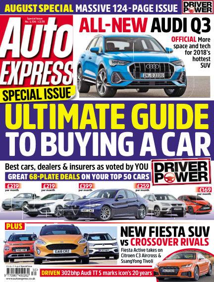 Auto Express July 26, 2018 00:00