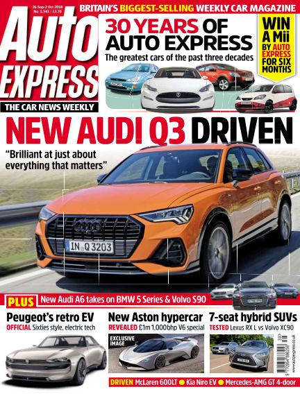 Auto Express September 27, 2018 00:00