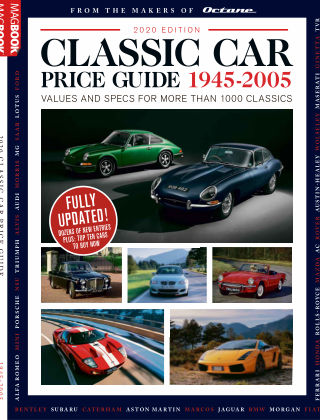 Classic Car Price Guide 2020 2020