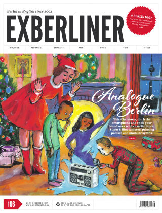 EXBERLINER Issue 166, Dec 2017