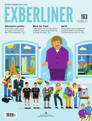 EXBERLINER Issue 163, Sept 2017