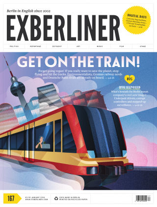 EXBERLINER Issue 167, Jan 2018