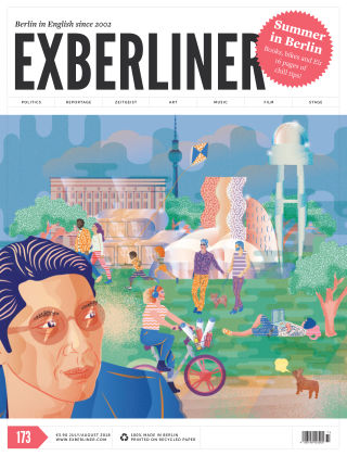 EXBERLINER Issue173, JUL/AUG 18