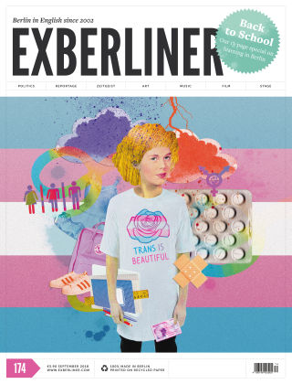 EXBERLINER Issue 174, Sep 2018