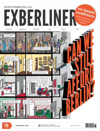 EXBERLINER Issue 176, Nov 2018