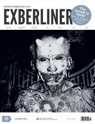 EXBERLINER Issue 177, Dec 2018