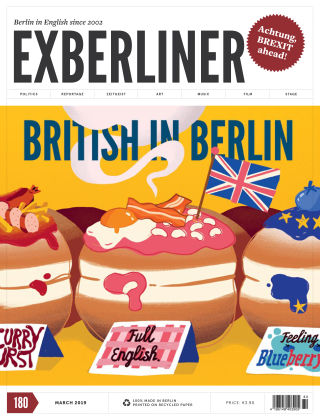 EXBERLINER Issue 180, Mar 2019