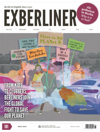 EXBERLINER Issue 181 April 2019