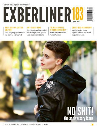 EXBERLINER Issue 183, June 2019