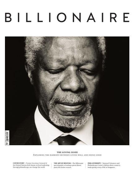 BILLIONAIRE Magazine December 15, 2015 00:00