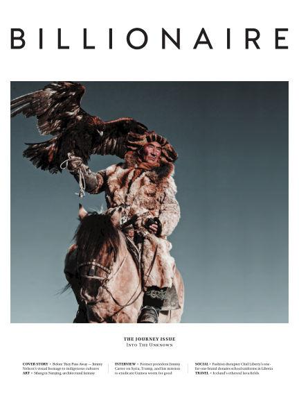 BILLIONAIRE Magazine September 02, 2017 00:00