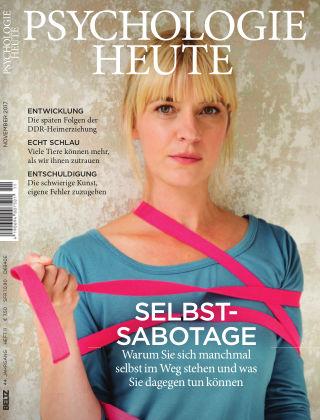 Psychologie Heute 11 2017