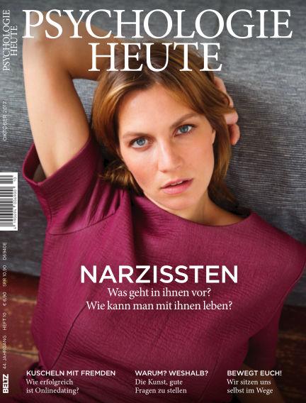 Psychologie Heute September 13, 2017 00:00