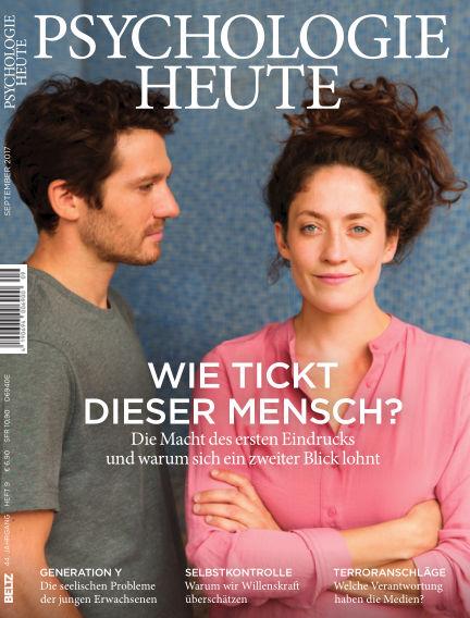 Psychologie Heute August 09, 2017 00:00