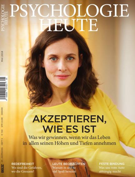 Psychologie Heute April 11, 2018 00:00