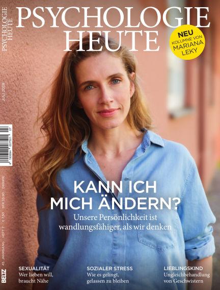Psychologie Heute June 13, 2018 00:00