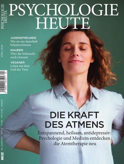 Psychologie Heute March 13, 2019 00:00
