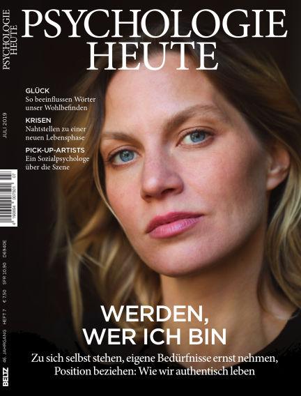 Psychologie Heute June 12, 2019 00:00