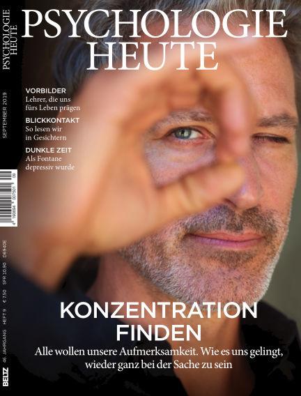 Psychologie Heute August 14, 2019 00:00