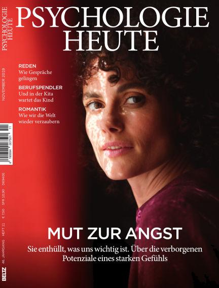 Psychologie Heute October 09, 2019 00:00