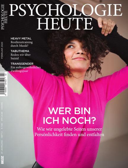 Psychologie Heute January 08, 2020 00:00