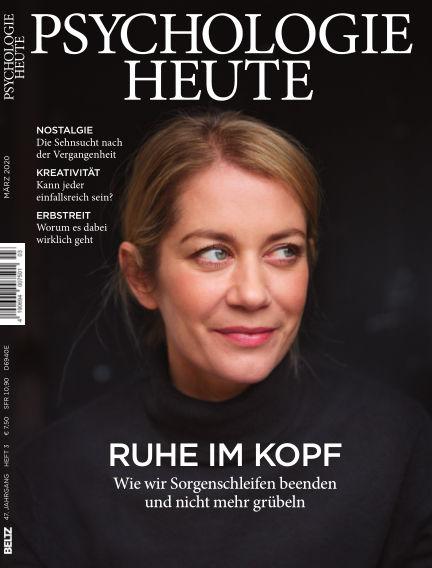 Psychologie Heute February 12, 2020 00:00