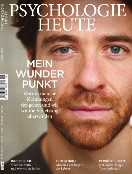 Psychologie Heute March 11, 2020 00:00