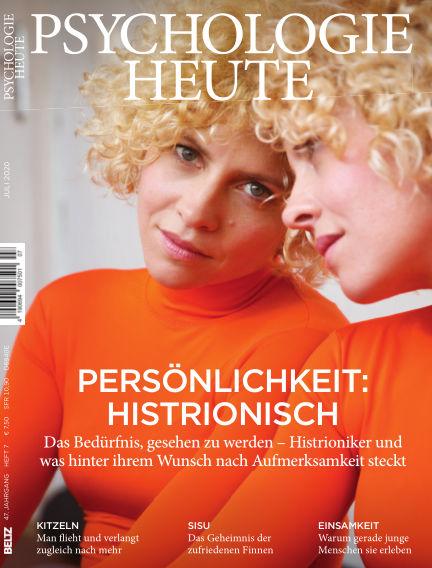 Psychologie Heute June 10, 2020 00:00