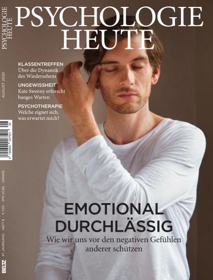 Psychologie Heute July 08, 2020 00:00