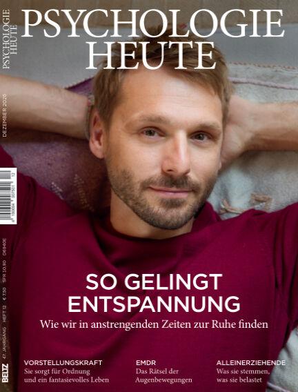 Psychologie Heute November 11, 2020 00:00