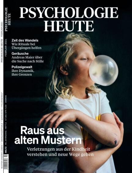 Psychologie Heute January 13, 2021 00:00