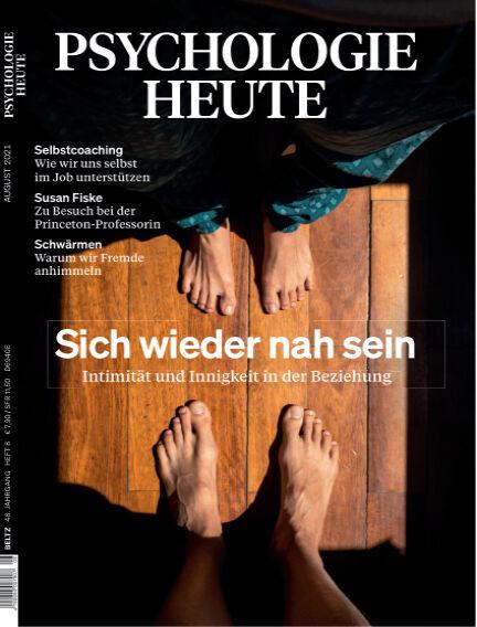 Psychologie Heute July 14, 2021 00:00