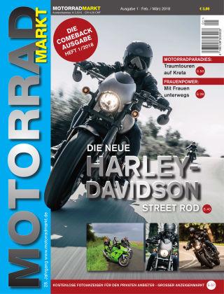 Motorradmarkt 01/2018