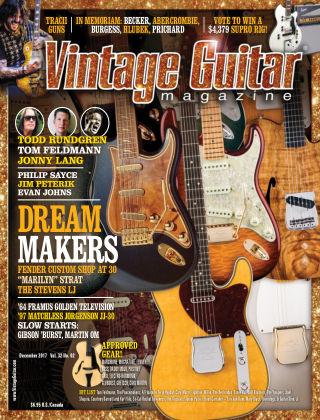 Vintage Guitar Magazine December 2017